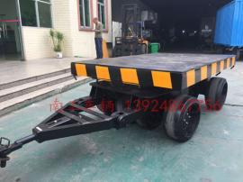 非标定制30吨重型8轮平板拖车