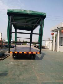 10吨雨篷平板拖车