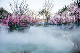 人造雾系统设备 景观造雾