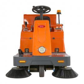 物业保洁建筑工地工厂车间地面灰尘用扫地车小区车库用扫地车