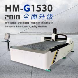 1000W光纤激光切割机的切割功能和切割精度 汉马激光