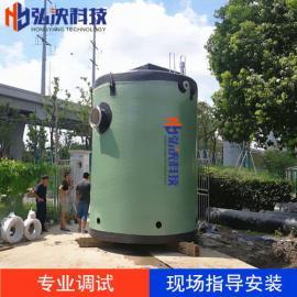 定制一体化预制泵站玻璃钢筒体