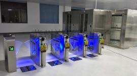 LCD蓝光数显智能显示联网ESD防静电门禁系统