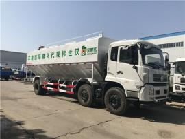 满意的自卸式封闭式饲料运输罐车质量有保障