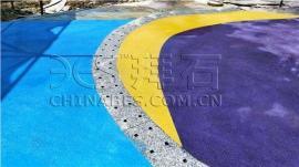 彩色�[石聚合物仿石砼-�[石聚合物仿石地坪-拜石