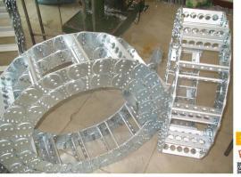 重工钢制拖链,重工机械穿线保护电缆钢制拖链现货供应