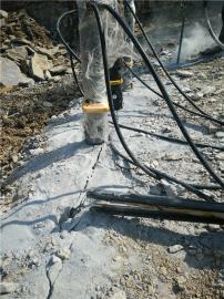 矿山岩石破石器分裂机