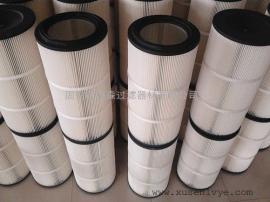 集尘机除尘滤筒 32100聚酯纤维集尘机配套除尘滤筒