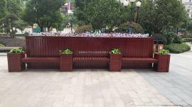 铝合金花箱|塑木花箱|钢木花箱|花箱生产企业