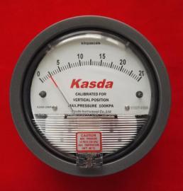 机械式负压表20KPa气体压差表风压表