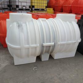 1吨三级净化进口PE塑料化粪池精品生活污水设备城乡整改化粪池