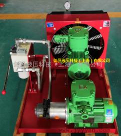 SEW减速机齿轮箱压力润滑油冷却系统散热系统