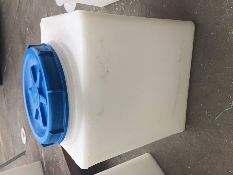 30升 PE加药箱 方形加药桶 自助洗车机水箱 30L耐酸碱加药罐