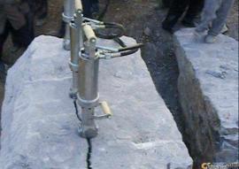 矿山开采禁止爆破开采就用岩石劈裂机