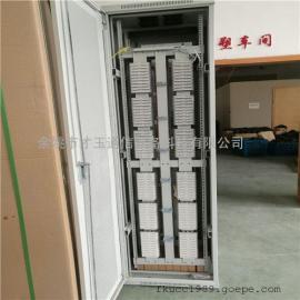 光纤配线架 2.2米直插模块式配线柜机柜