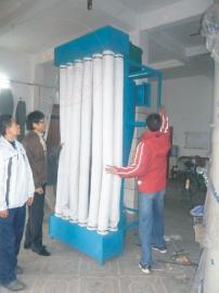 布袋式旋风除尘器 粉料滤袋式旋风分离集尘设备设计定制