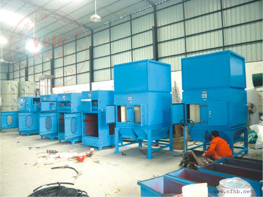 工业滤筒除尘器 涂装喷粉脉冲滤芯集尘器高新技术企业