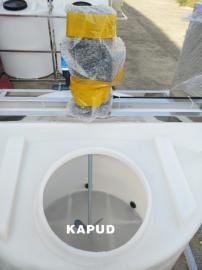 加药桶搅拌机 耐酸碱溶药搅拌机 立式反应搅拌桶搅拌器