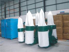 双桶布袋吸尘器 家具木业粉尘袋滤收尘设备器7.5KW定制