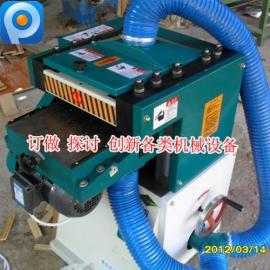 木工机械双面压刨机床刨木机木线条机电刨多功能台式压刨自动