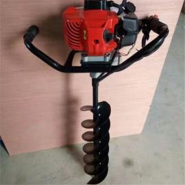 新款48cc排量 地钻 种植机 挖坑机 打桩机 冰钻 钻头 植树机