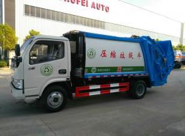 东风多利卡5方压缩垃圾车报价表 小型垃圾清运车