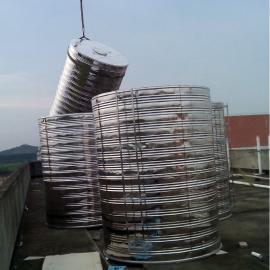 不锈钢圆形水箱 保温水箱 立卧水箱 酒店不锈钢水箱