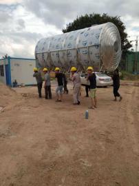 不锈钢圆形水箱 立卧式工业保温水箱 全国各地热销