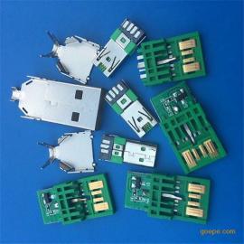 5A�G色OPPO快充USB公�^�W充A公5P��IC大�流+MICRO 7P公�^焊