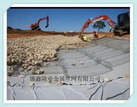 镀锌石笼网 包塑石笼网 河道护垫 宾格石笼网