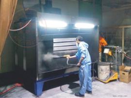 喷涂粉尘除尘柜 工厂企业涂装粉料回收集尘设备设计定制