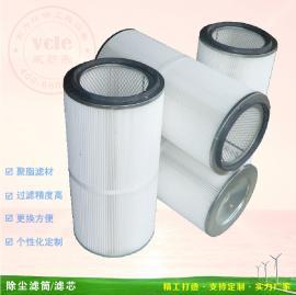 除尘滤芯滤筒 涂装喷粉粉尘过滤器 粉尘回收滤芯品质保证