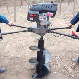 高配大功率地钻挖孔机 四冲程发动机结构合理润滑系统好