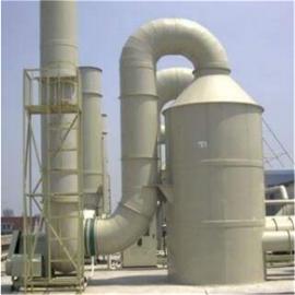 废气处理喷淋塔设备安装