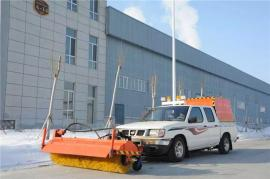 垃圾车除雪铲安装