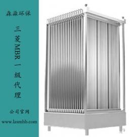 �l�景�^生活污水�理站新建改造更改三菱化�WMBR膜�M件不�嘟z