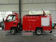 车身长度小于5米的小型消防车