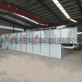 一体化溶气气浮机 一体化气浮机生产厂家 平流式溶气气浮机
