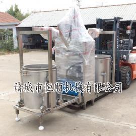 牛杂火锅底料油固液分离压榨机 不锈钢工业用流水线液压压榨机