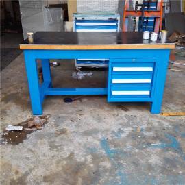 重型实木工作台