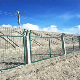 高速铁路金属网片防护栅栏厂 实体家
