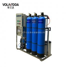 玻璃制造厂员工直饮水设备 华兰达直供0.5T/H反渗透纯净水设备