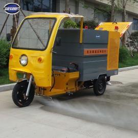 高压清洗车生产厂家,电动小型多功能高压冲洗车,捷恩品牌