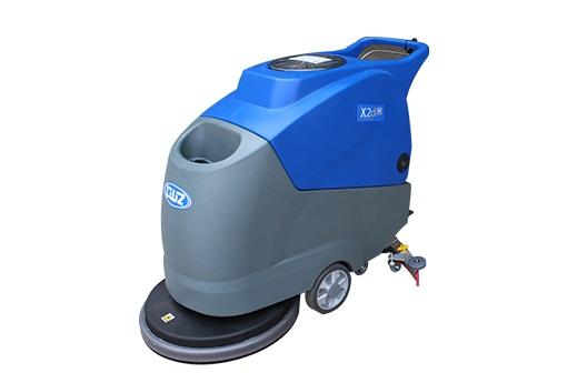 工厂地面清洗专用洗地机 威卓自走式手推洗地机