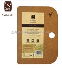 SAGE菜板美国进口防菌砧板刀板辅食水果切菜板不发霉实木面案板