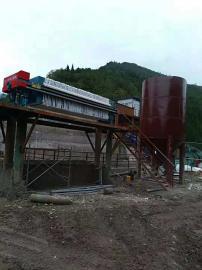 矿井污泥硬化设备单锯石材污水过滤机