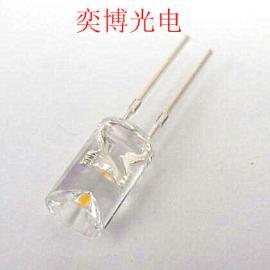 5mm�劝�o�暖白光透明LED�糁� �t��美容�S�LED�糁�