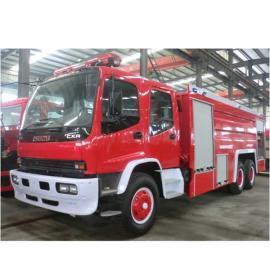 救火车-小型水罐消防车