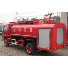 民用小型消防车-消防洒水车