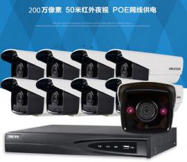 凤岗摄像头安装,监控系统工程,黄江工厂百万高清,光纤熔接